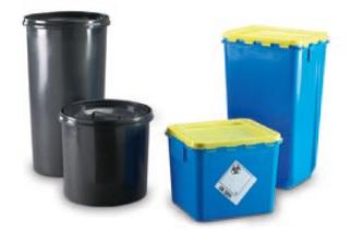 Verpackungen für medizinische Abfälle