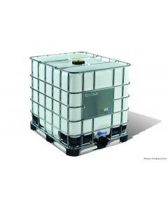 IBC Container 1000 Liter aus Kunststoff,  SM13 UN-Y-Zulassung, ETFE/EPDM-Dichtung