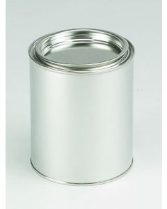 1000 ml Patentdeckeldose Weißblech, blank