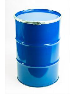 Sickendeckelfass ca. 210 l aus Stahlblech mit Doppelzulassung Flüssigkeiten u. Feststoffe