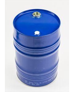 Garagenfaß 60 Liter aus Stahlblech innen roh / außen blau lackiert RAL5010