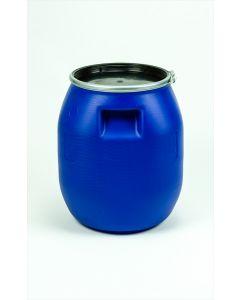 Palettendeckelfass 30 Liter aus Kunststoff Farbe: blau