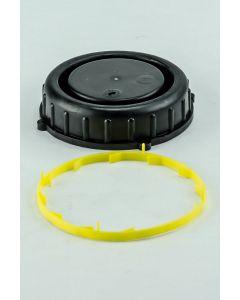 Rasterverschluß R 95 für Kanister aus Kunststoff, Farbe schwarz