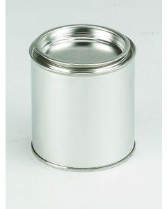 250 ml Patentdeckeldose Weißblech, blank,