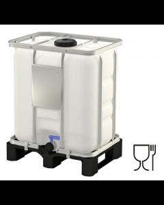 IBC Container 300 Liter aus Kunststoff mit Zulassung : UN 31HA1/Y/D...