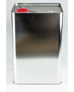 30 Liter UN Kanister, Weißblech, blank Kunststoffverschluss HZ 601