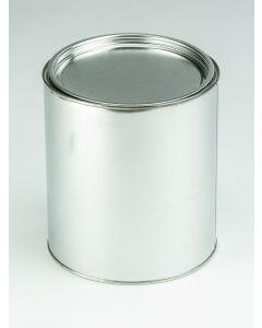 3 Liter Patentdeckeldose ohne Bügel Weißblech, blank, Deckel