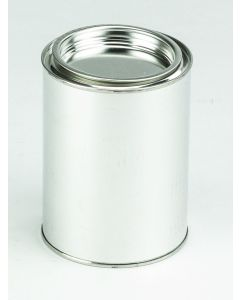 500 ml Patentdeckeldose Weißblech, blank