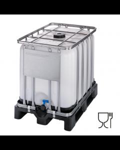 IBC Container 600 Liter aus Kunststoff mit UN-Zulassung