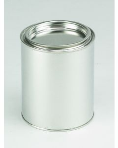 750 ml Patentdeckeldose Weißblech, blank,