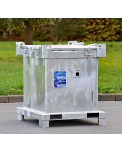Sondermüllbehälter ASP 800 C-4 in verzinkter Ausführung