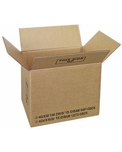 Gefahrgutkarton 385 x 285 x 300 mm, UN 4G + UN 4GV Zulassung
