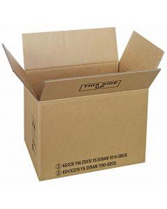 Gefahrgutkarton 430 x 310 x 300 mm UN 4G + UN 4GV Zulassung