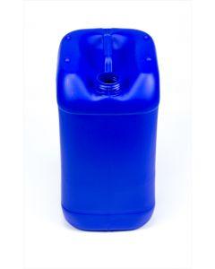 Kanister 25 Liter aus Kunststoff Typ EST, UN X Zulassung, blau (ohne Verschluss)