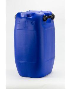 Kanister 60 Liter aus Kunststoff, 3-Griff-Ausführung Typ EST, UN X Zulassung, blau (ohne Verschluss)