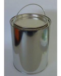 2,5 Liter Patentdeckeleimer mit einlegbarem Bügel (OptiCan) Weißblech, blank