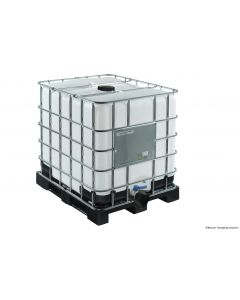 IBC Container 1000 Liter aus Kunststoff,  SM15 UN-Y-Zulassung, ETFE/EPDM-Dichtung