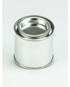 100 ml-Patentdeckeldose Weißblech, blank