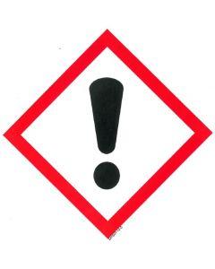 GHS-Etiketten GHS07, selbstklebendes Papier,  Toxidität, Reizung, Augenreizung,