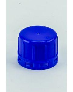 Originalitätsverschluss DIN 32 EH, blau, mit Schaumstoffeinlage