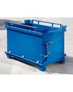 Container mit kippbarem Boden aus Stahlblech 600 l