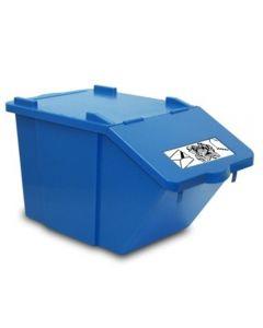 Abfallbehälter mit Klappverschluss 45 l