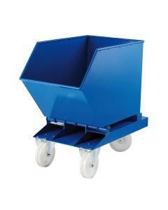 Kippcontainer aus Stahlblech 250 l
