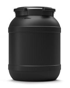 Weithalsfass 26 Liter aus Kunststoff mit Schraubdeckel UN 1H2/X33/S, leitfähig