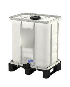 300 l Container aus Kunststoff mit Zulassung : UN 31HA1/Y/D...