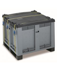 Gefahrgut-Paloxe aus Kunststoff, UN-Y-Zulassung, Volumen: 600 Liter
