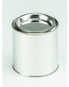 375 ml-Patentdeckeldose Weißblech, blank