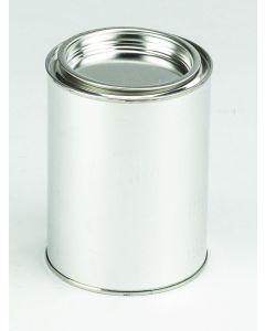 500 ml- Patentdeckeldose Weißblech, blank