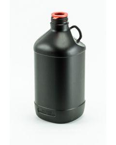 Kunststoff-Flasche 2500 ml UN, schwarz Enghals für DIN 45 , ohne Verschluss