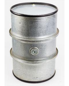 Rollreifen-Spundfass 200 Liter aus Stahlblech innen und außen verzinkt
