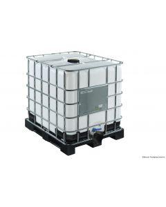 IBC Container 1000 Liter aus Kunststoff,  SM15, 225mm Einfüllöffnung, UN-Y-Zulassung, ETFE/EPDM-Dichtung