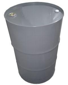 Sickenspundfass 216,5 Liter aus Stahlblech, innen roh, außen basaltgrau RAL 7012