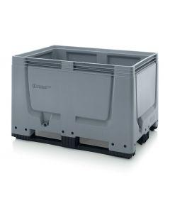 Gefahrgutpaloxe aus Kunststoff HD-PE, Volumen: 535 Liter
