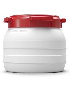 Weithalsfass 10,4 Liter aus Kunststoff mit Schraubdeckel UN 1H2/X22/S/...